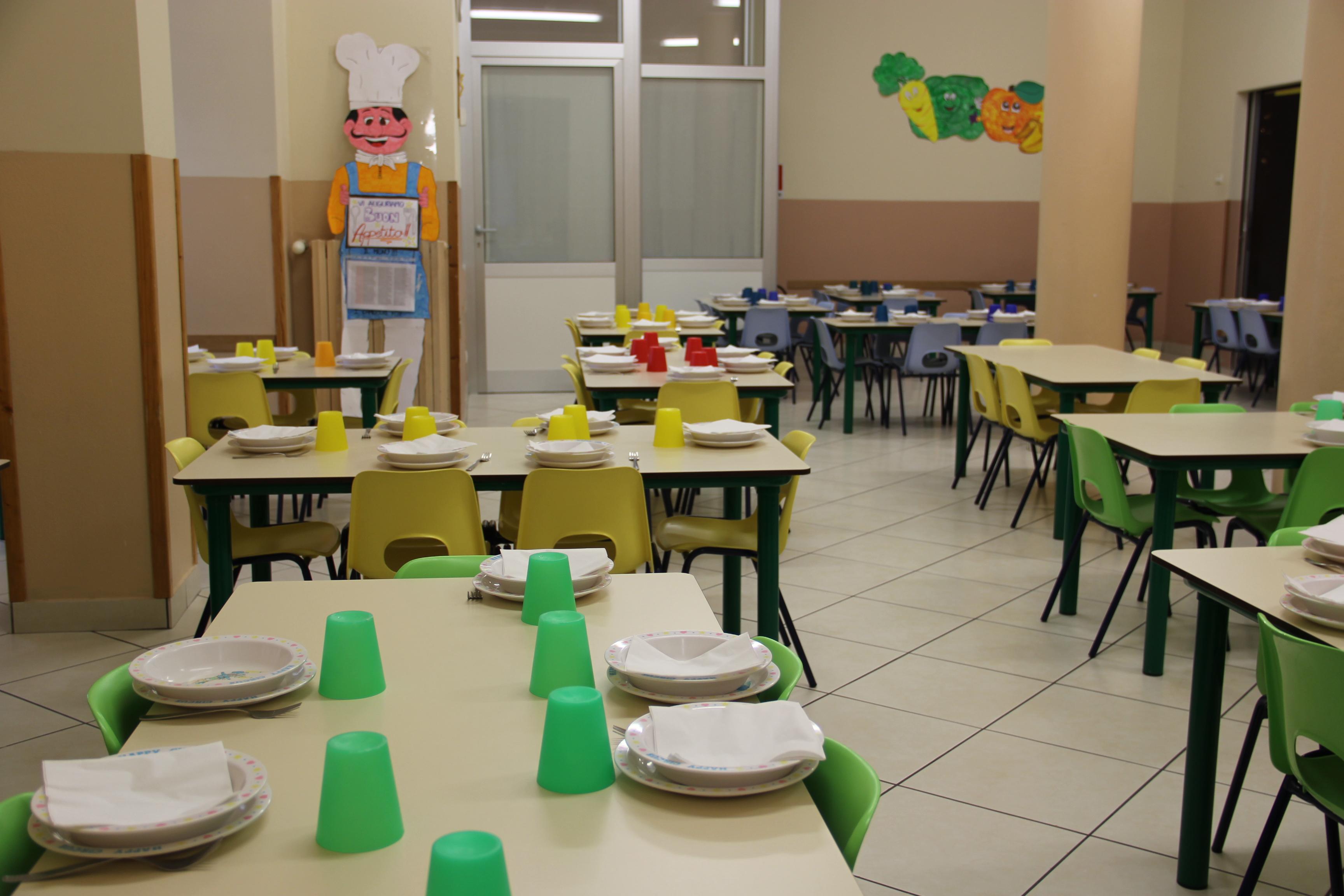 Refettorio scuola dell´Infanzia Maria Ausiliatrice - Lodi