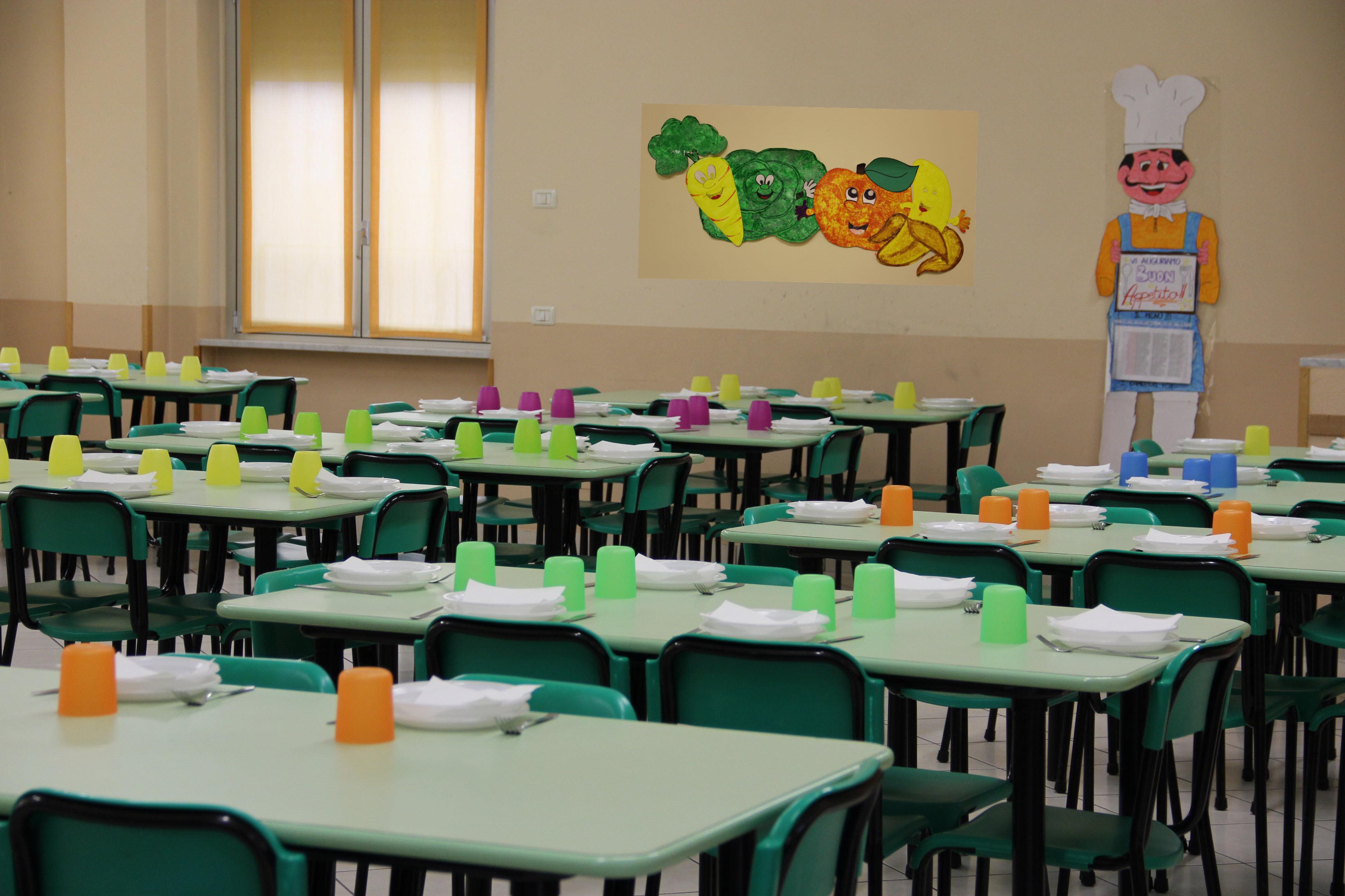 Refettorio scuola Primaria Scuola Maria Ausiliatrice - Lodi