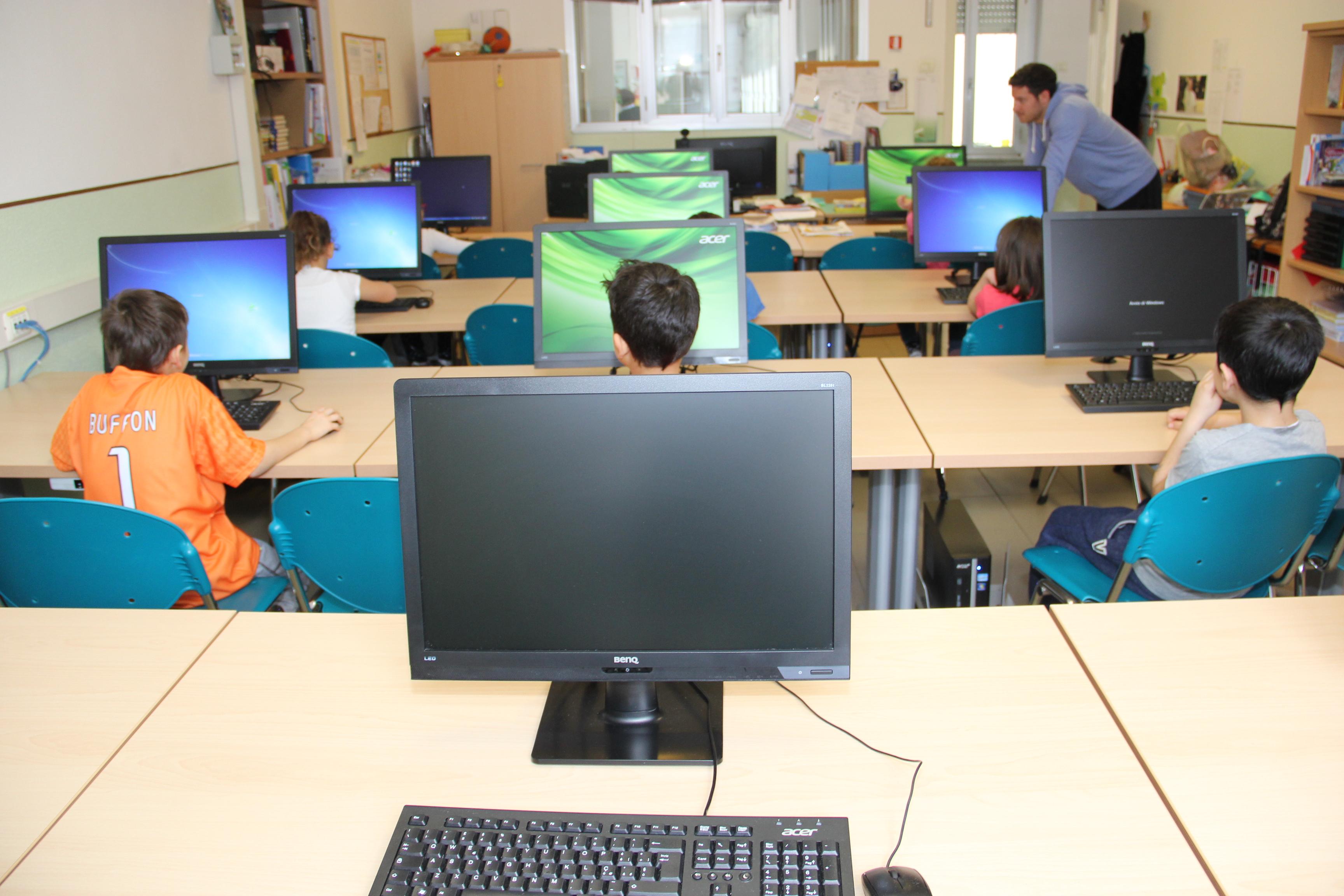 Aula multimediale Scuola Maria Ausiliatrice - Lodi