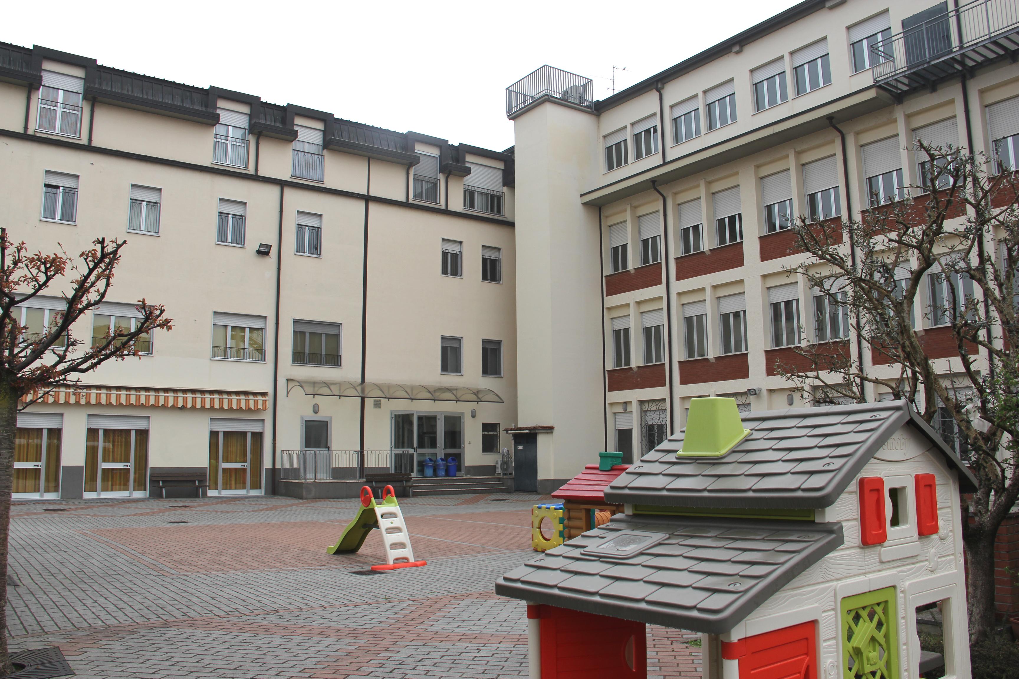 Cortile Scuola Maria Ausiliatrice - Lodi